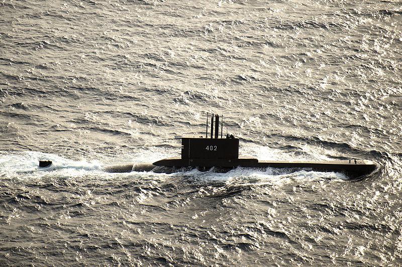 Kapal Selam KRI Nanggala 402 Tenggelam
